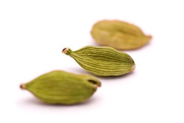 Cardamom Seeds Macro