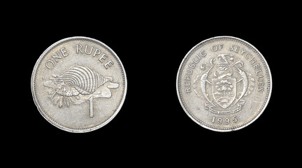 Coin of Seychelles - obverse and reverse