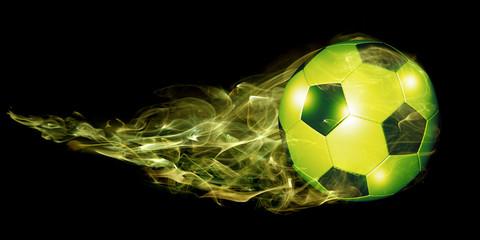 grüner Fußball
