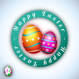 Happy Easter - Vector illustration