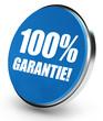 100% Garantie! Button, Icon