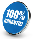 100% Garantie! Button, Icon