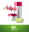 spa and beauty background