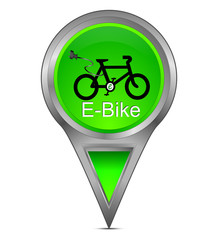 Pin Pointer mit E-Bike