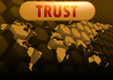 Trust world map