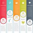 Modern Minimalistic Infographics Template
