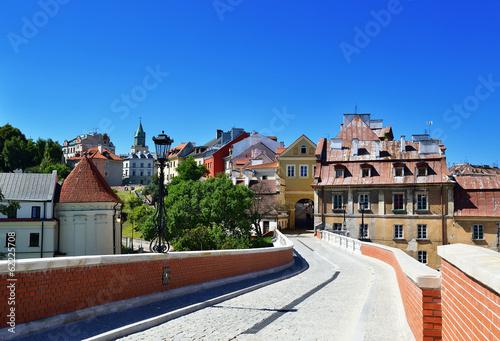 Zdjęcia na płótnie, fototapety na wymiar, obrazy na ścianę : Old town of Lublin. City in Poland.