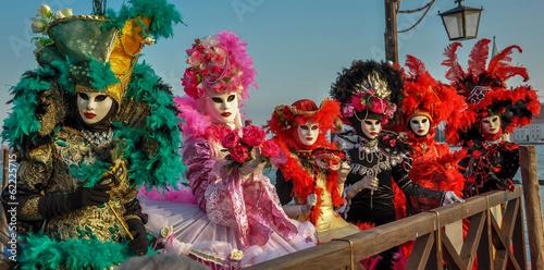 Aluminium Venetie carnaval de venise