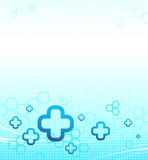 Abstract medical background. Vector