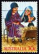 Postage stamp Australia 1986 Holy Family