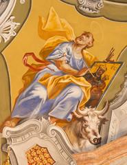 Saint Anton palace - Saint Luke the Evangelist fresco