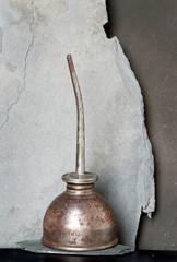 Rustic Antique Oil Can
