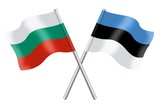 Flags: Bulgaria and Estonia
