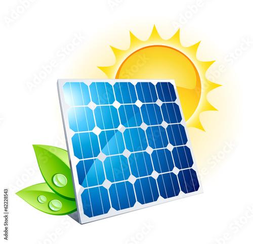panneau solaire - 62228543