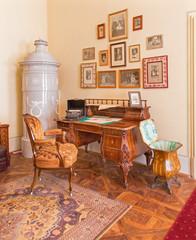 Worktable  form 19. cent. in palace Saint Anton - Slovakia