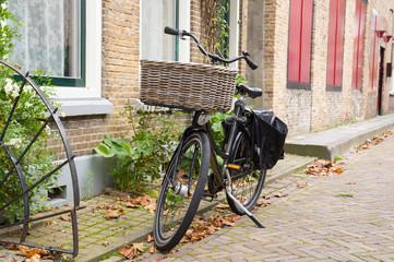 Bakery bike in Holland