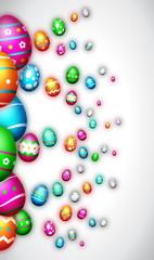 Joyeuses Pâques - Happy Easter - Illustration vectorielle