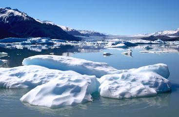 Iceberg near of Upsala glacier in Argentine Patagonia