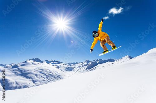 Foto op Aluminium Wintersporten take the cloud