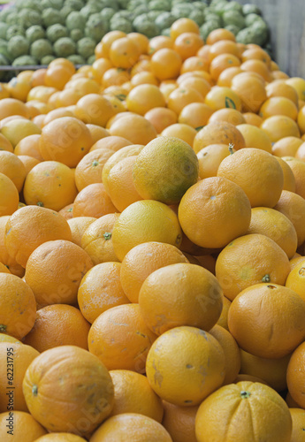 Fresh ripe oranges