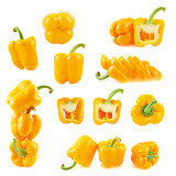 Set of multiple bell pepper compositions