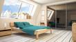 3D Schlafzimmer