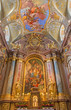 Vienna - Main altar of baroque st. Annes church