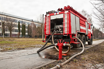 fire-engine vehicle