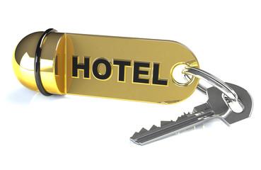 Zimmerschlüssel für Hotel