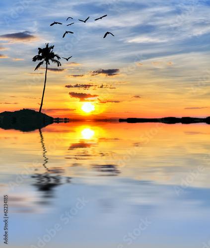 Fotobehang Een Hoekje om te Dromen cuando el mar esta en calma