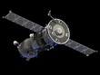 "Leinwanddruck Bild - Spacecraft  ""Soyuz"""