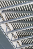 Suspension Ada Bridge - Modular Girder Framework Detail - Belgra poster