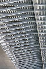 Suspension Ada Bridge - Modular Girder Framework Detail - Belgra