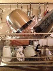 Geschirr abwaschen