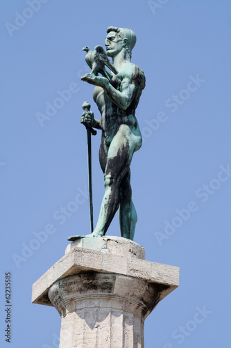 Victor Monument in Belgrade, Serbia