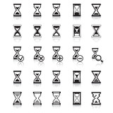 Sand glass Icons & Symbols.