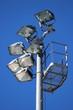 Projecteurs sur pylône