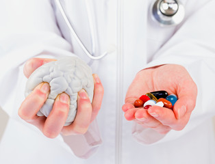 Neuropsychiatric roborating pills