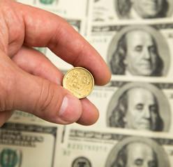 Swedish krona and the U.S. dollar
