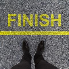 finish race concept
