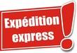 étiquette expédition express