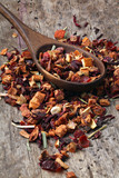 Dried fruits tea