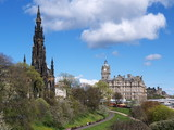 Princes Street Gardens, Edinburgh, Scotland