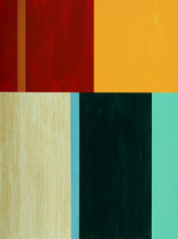 eine minimalistische abstrakte Malerei