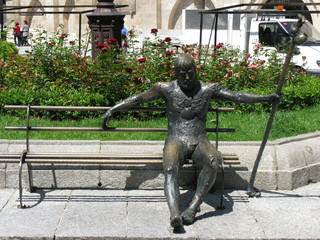 Pilgerdenkmal Burgos