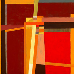 a modernist abstract painting