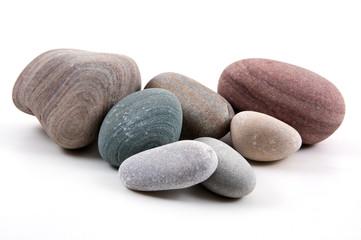 Farbige Steine