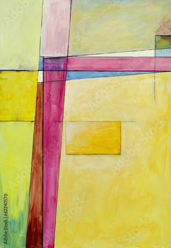 Obraz na Szkle an abstract painting