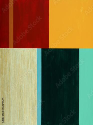 Leinwandbild Motiv a minimalist abstract painting
