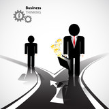 business crossroad